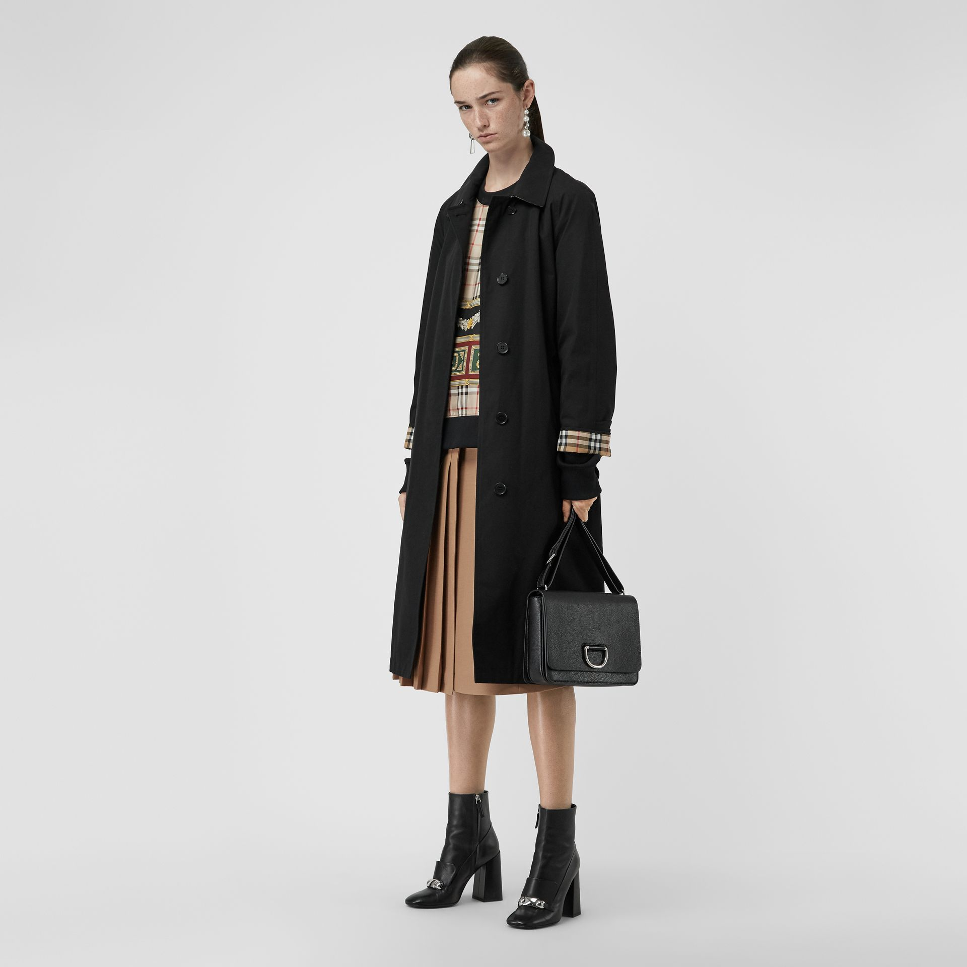 The Brighton Car Coat in Black - Women | Burberry - gallery image 0