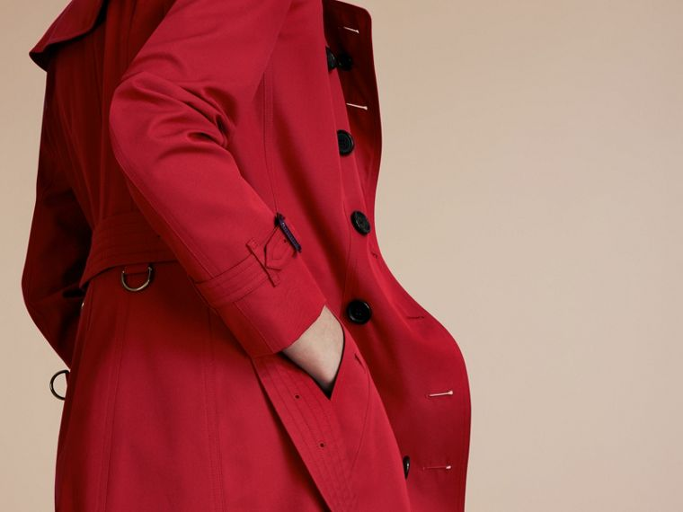 Parade red The Chelsea – Extra-long Heritage Trench Coat Parade Red - cell image 4