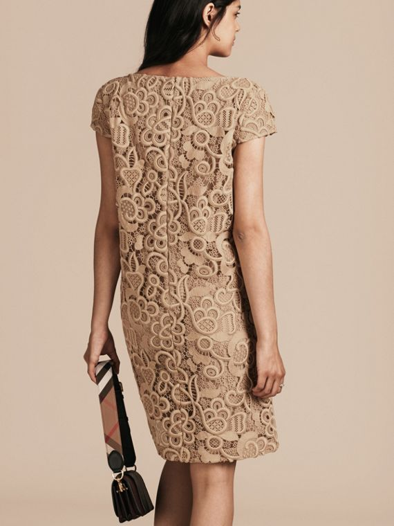 Nude Online Exclusive Swiss Lace Shift Dress - cell image 2
