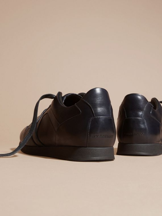 Navy The Field Sneaker in Leather Navy - cell image 3
