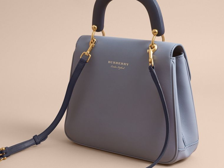 The Medium DK88 Top Handle Bag in Slate Blue - Women | Burberry - cell image 4