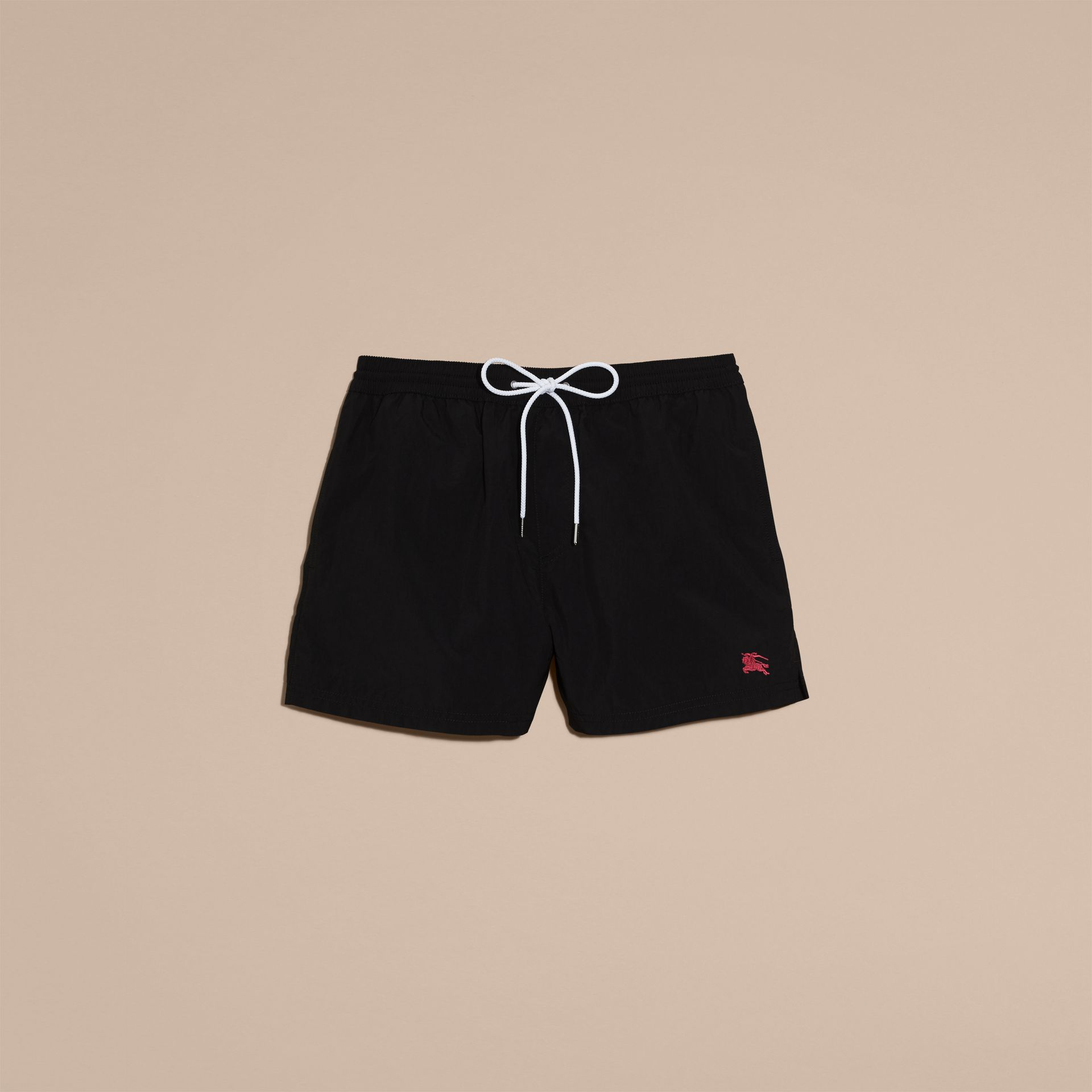 Black Lightweight Swim Shorts Black - gallery image 4