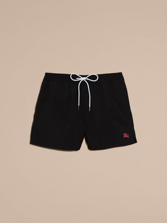 Black Lightweight Swim Shorts Black - cell image 3