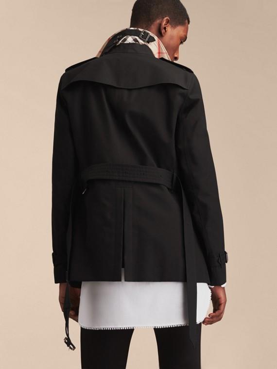 Negro Trench coat Chelsea – Trench coat Heritage corto Negro - cell image 3