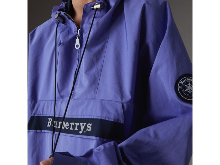 Reissued Hooded Anorak in Purple - Women | Burberry United Kingdom - cell image 1