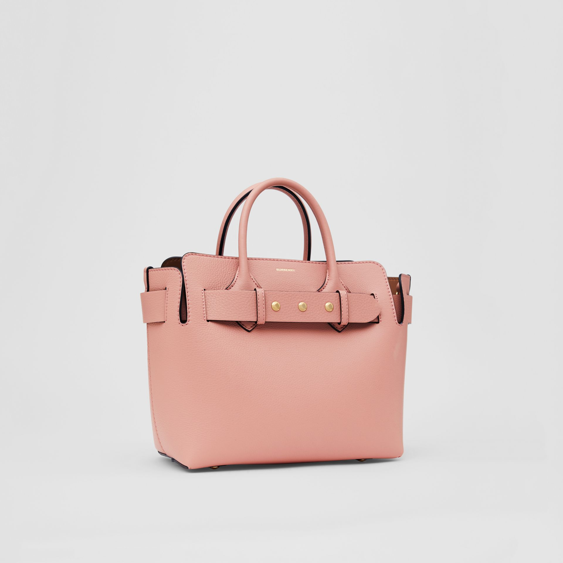 The Small Leather Triple Stud Belt Bag in Ash Rose - Women | Burberry - gallery image 6