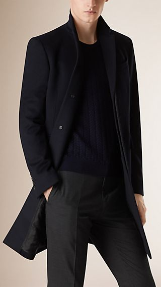 Wool Cashmere Topcoat