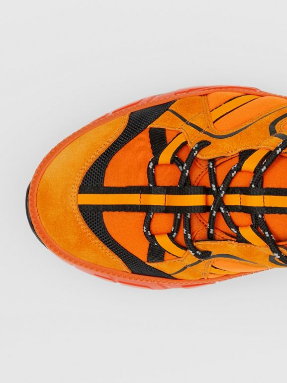 ナイロン・スエード&レザー ユニオン スニーカー (ブライトオレンジ) - メンズ   バーバリー - cell image 1