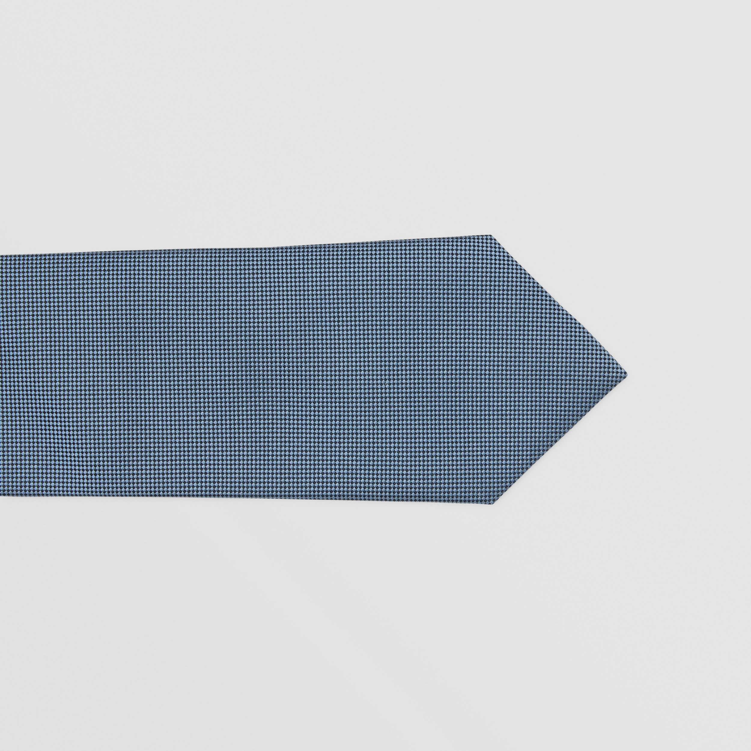 Classic Cut Embroidered Zebra Silk Tie in Dusty Bluebell - Men | Burberry United States - 2