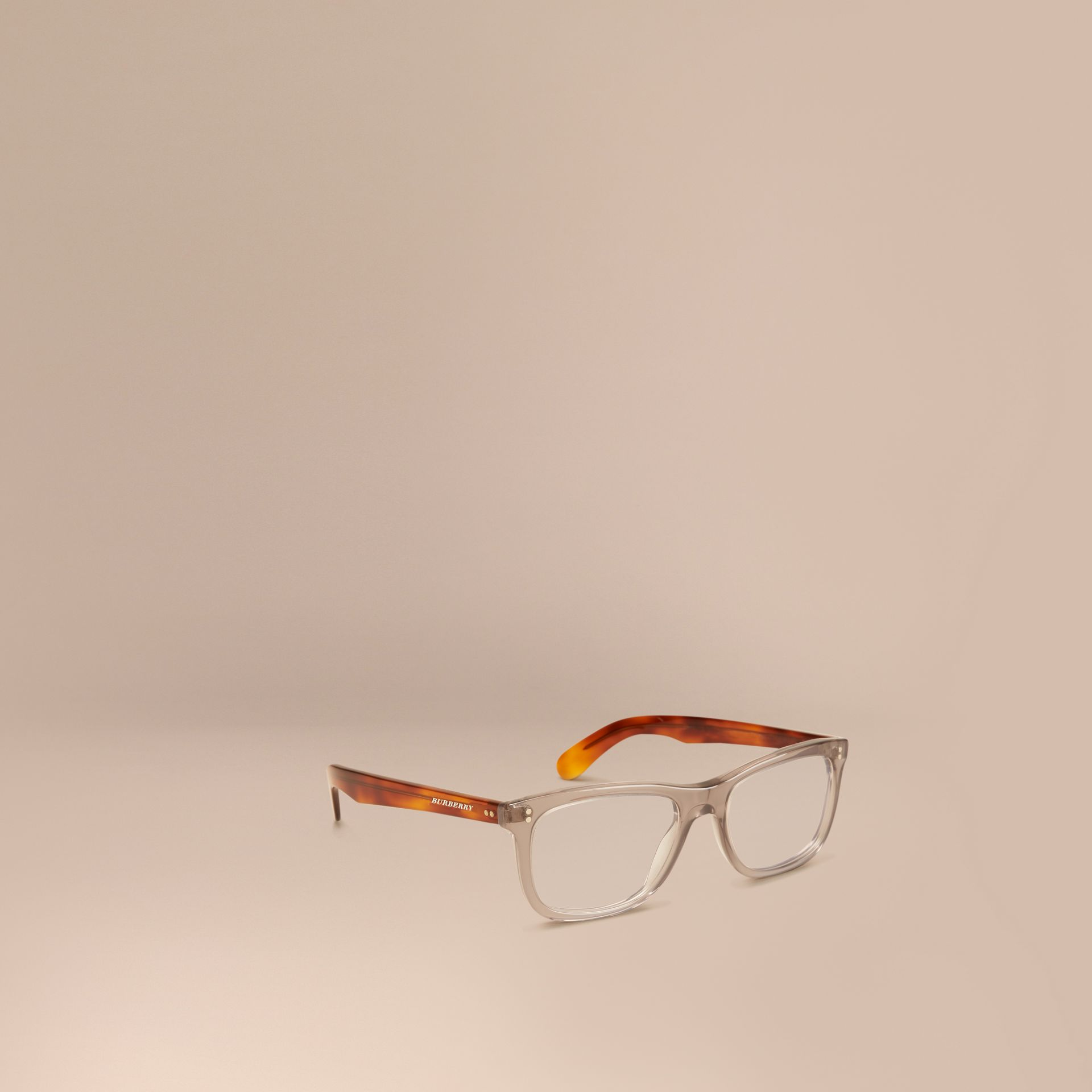 Square Optical Frames Smokey Grey - gallery image 1