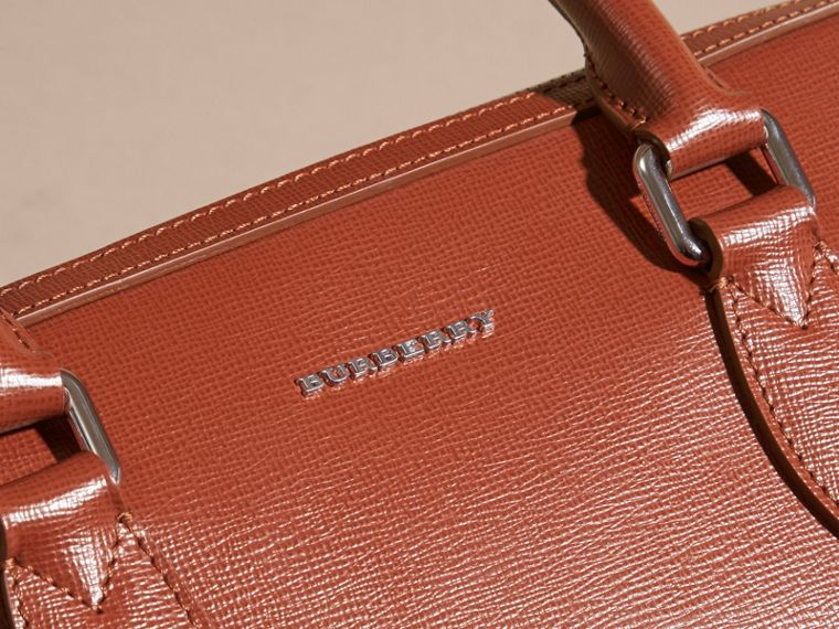 The Slim Barrow in London Leather in Burnt Sienna - cell image 1