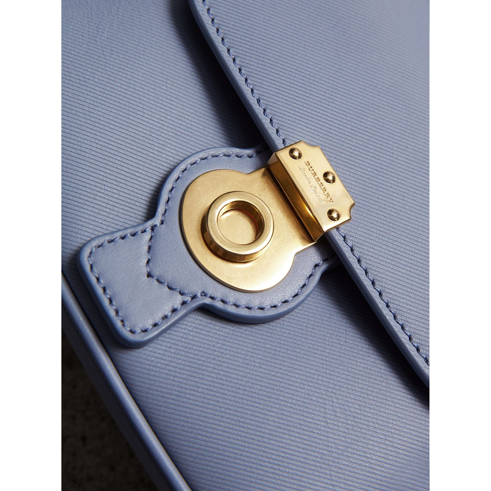 The Mini DK88 Top Handle Bag in Slate Blue - Women | Burberry - gallery image 2