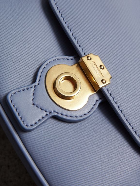 The Mini DK88 Top Handle Bag in Slate Blue - Women | Burberry United Kingdom - cell image 1