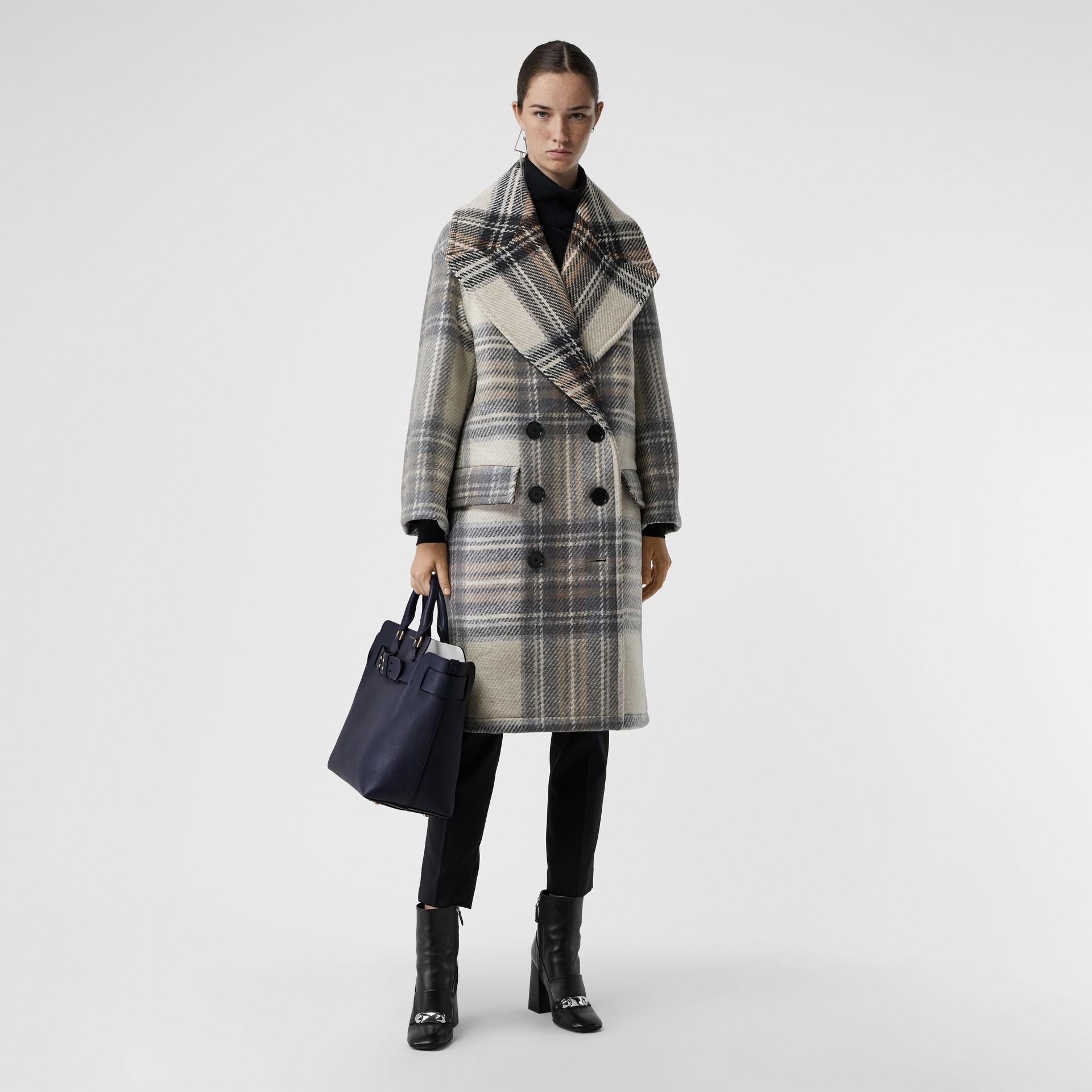 The Medium Leather Belt Bag in Regency Blue - Women | Burberry - gallery image 2
