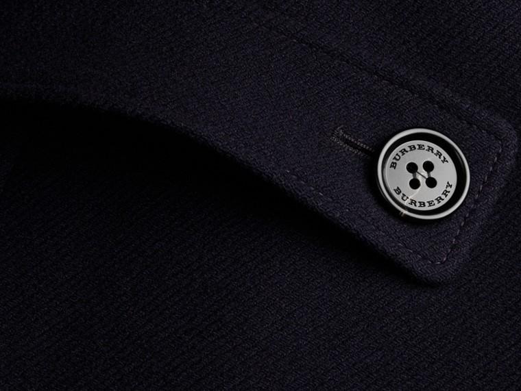 Marine Cape style duffle-coat en laine et cachemire Marine - cell image 1