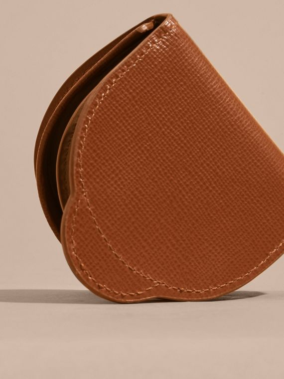 London Leather Coin Case in Burnt Sienna - cell image 3