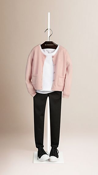 Textured Cashmere Cardigan