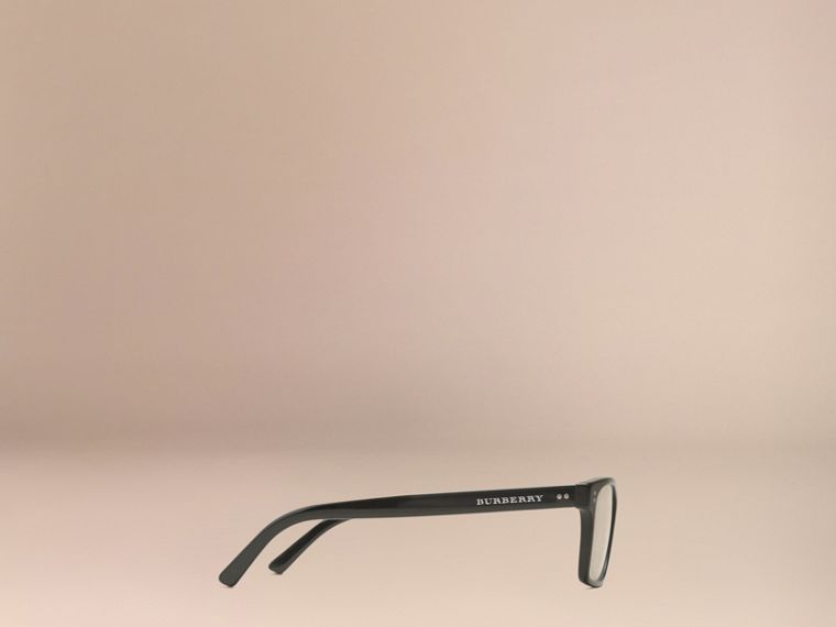 Rectangular Optical Frames Black - cell image 4