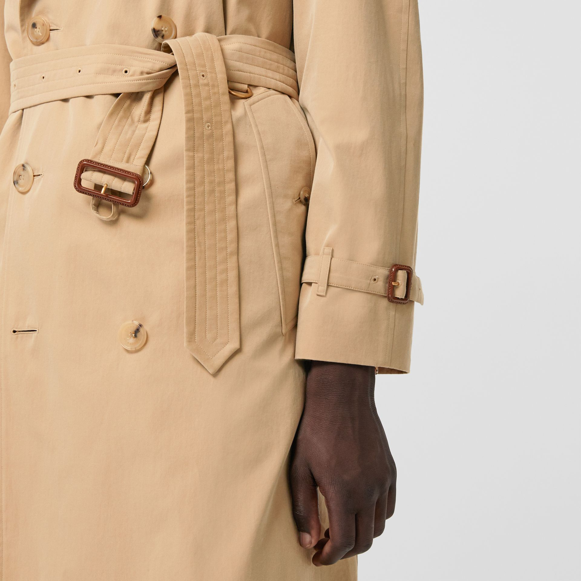 Trench coat Heritage The Westminster (Miele) - Uomo | Burberry - immagine della galleria 4