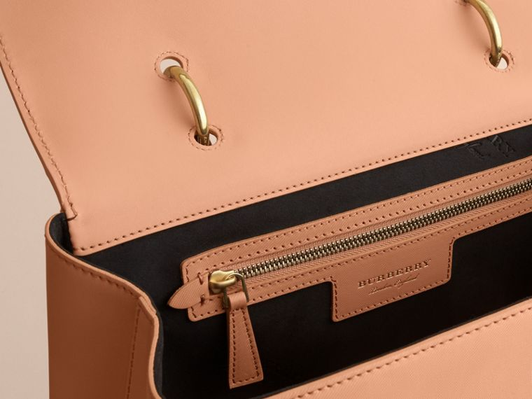 The Large DK88 Top Handle Bag in Pale Clementine - Women | Burberry Australia - cell image 4