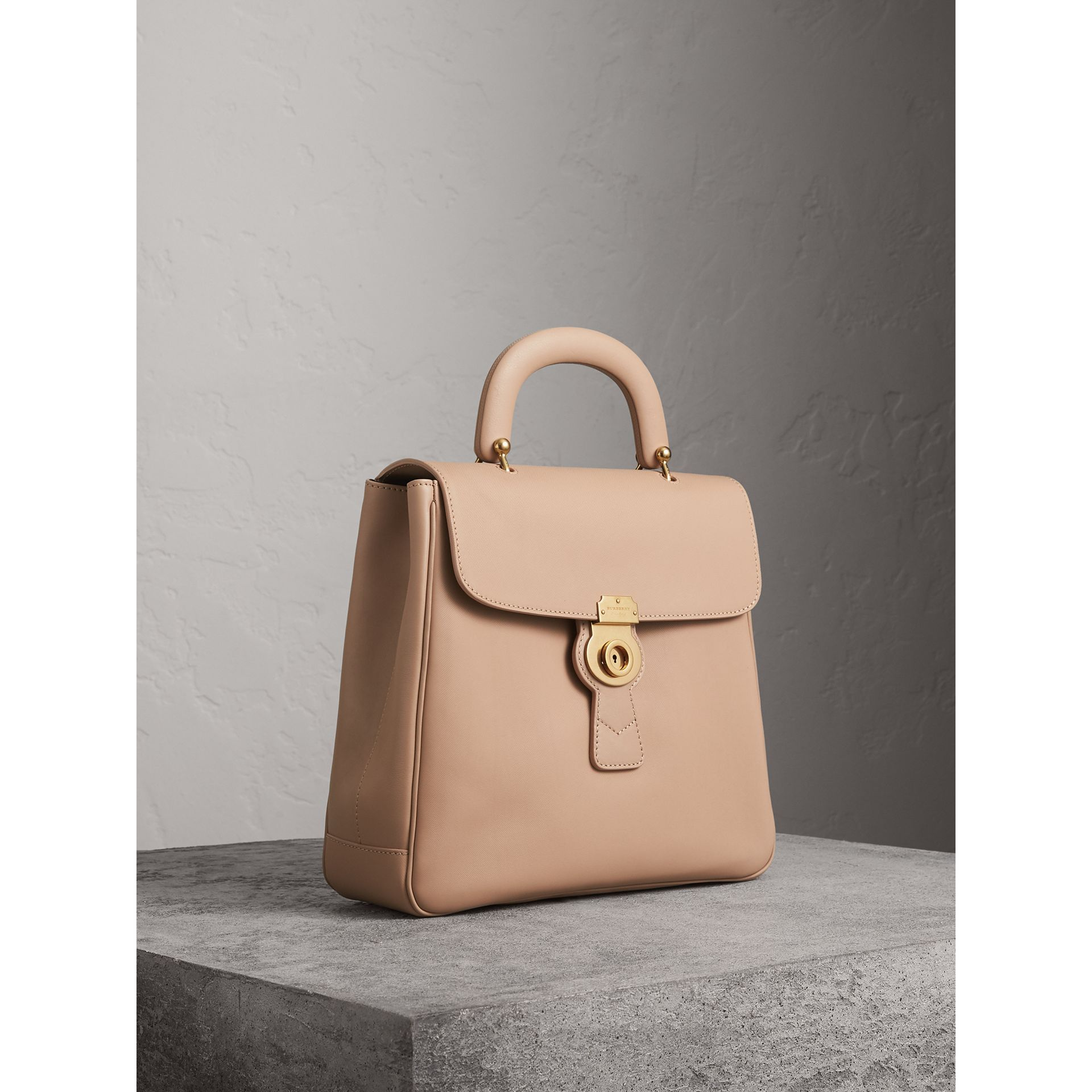The Large DK88 Top Handle Bag in Honey - Women | Burberry Australia - gallery image 8