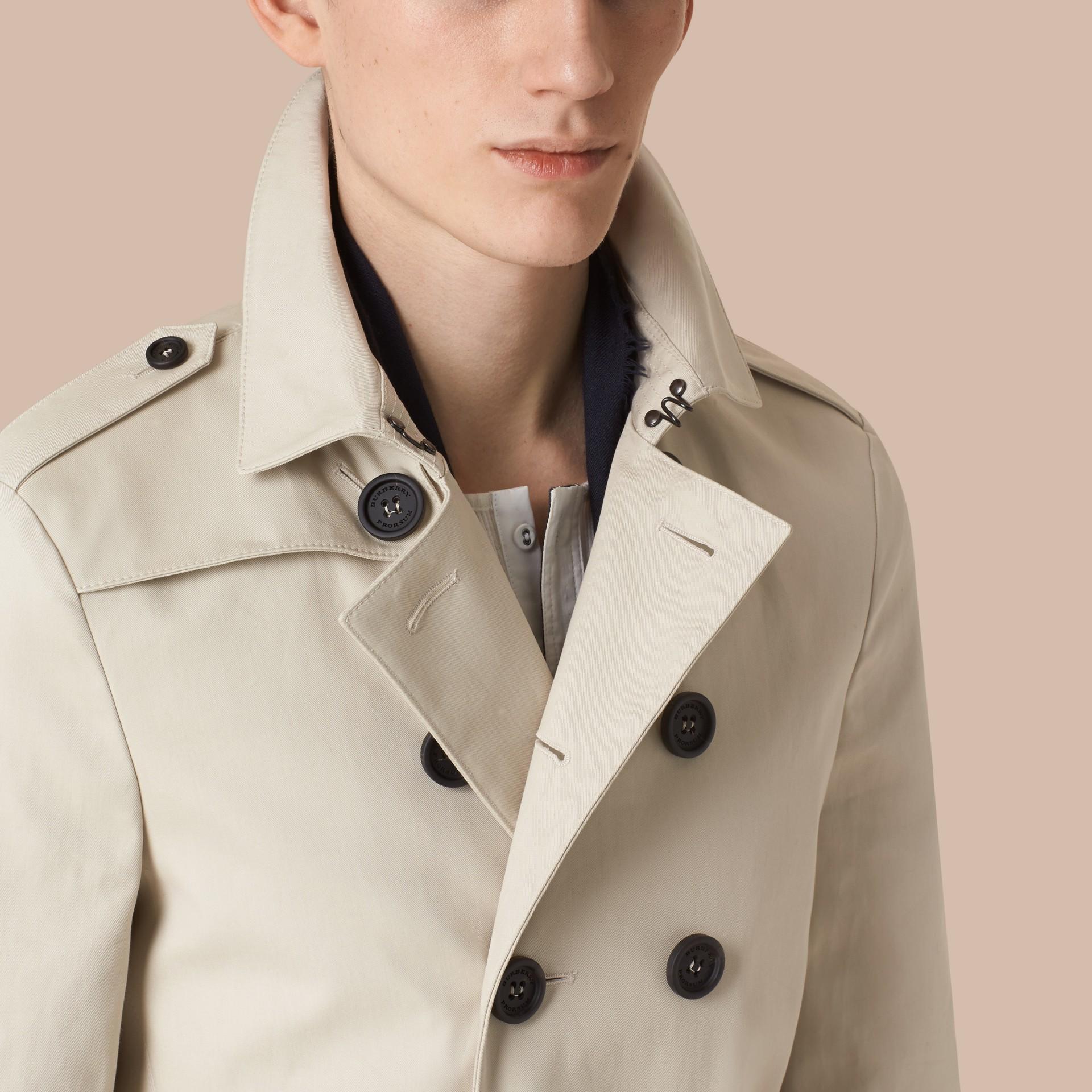 Stone Trench-coat en gabardine de coton - photo de la galerie 5