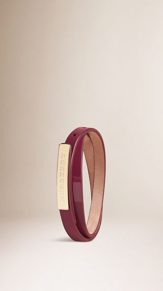 Leather Wraparound Bracelet