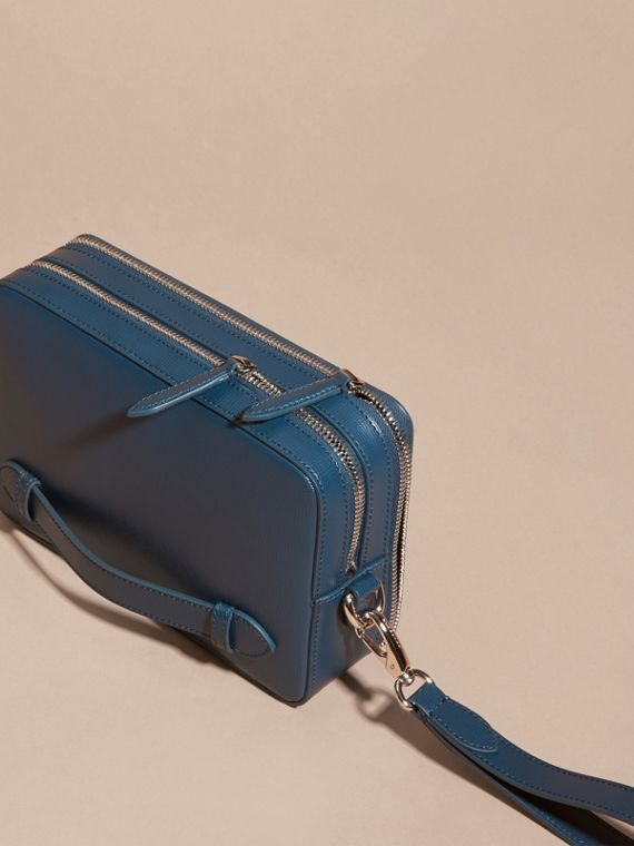 Pochette in pelle London (Blu Minerale) - cell image 2
