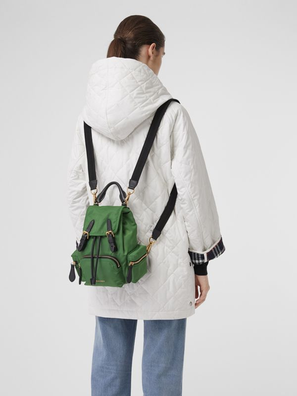 The Small Crossbody Rucksack aus Nylon (Englisch-grün) - Damen | Burberry - cell image 3