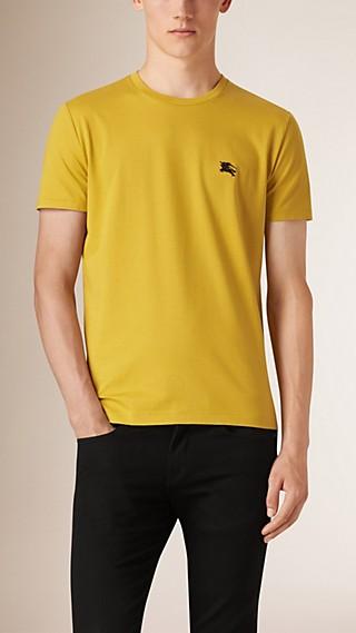 Camiseta en suave algodón de tacto líquido