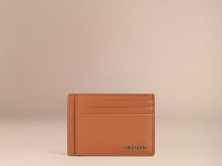 London Leather Card Case Tan - cell image 1