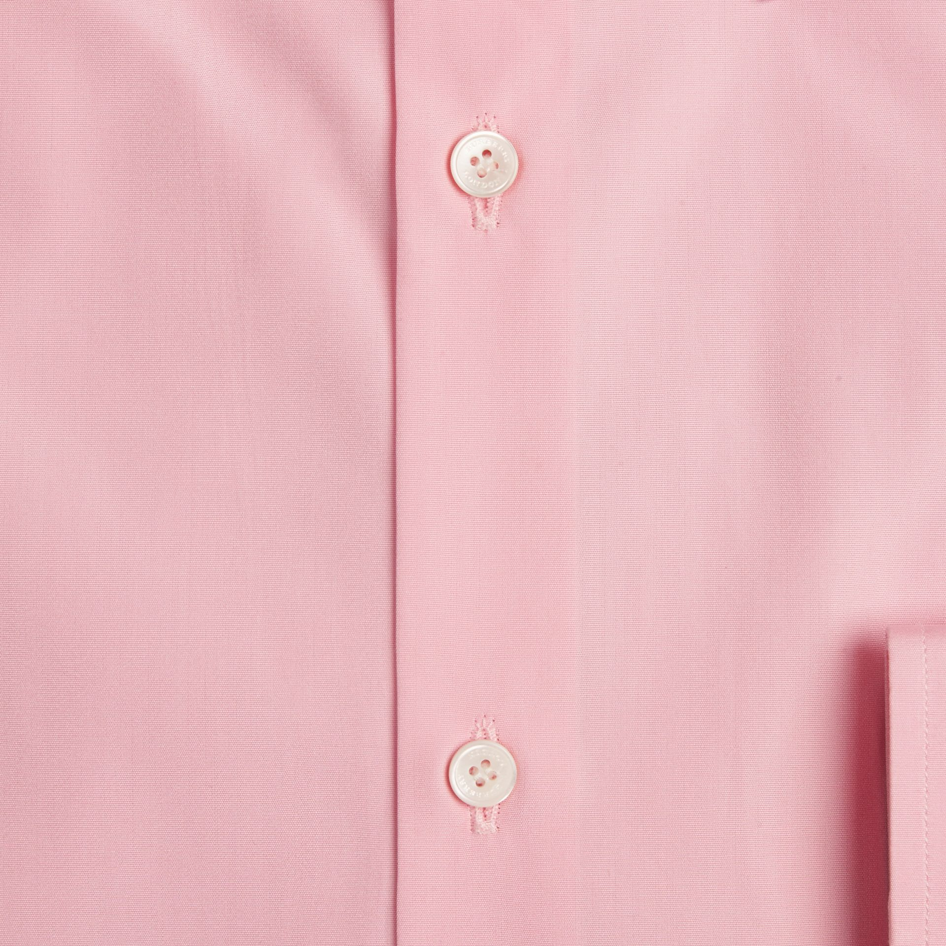 Modern Fit Cotton Poplin Shirt in City Pink - gallery image 2