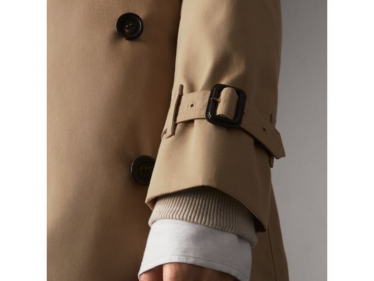 The Kensington – Long Trench Coat in Honey - Women | Burberry Singapore - cell image 4