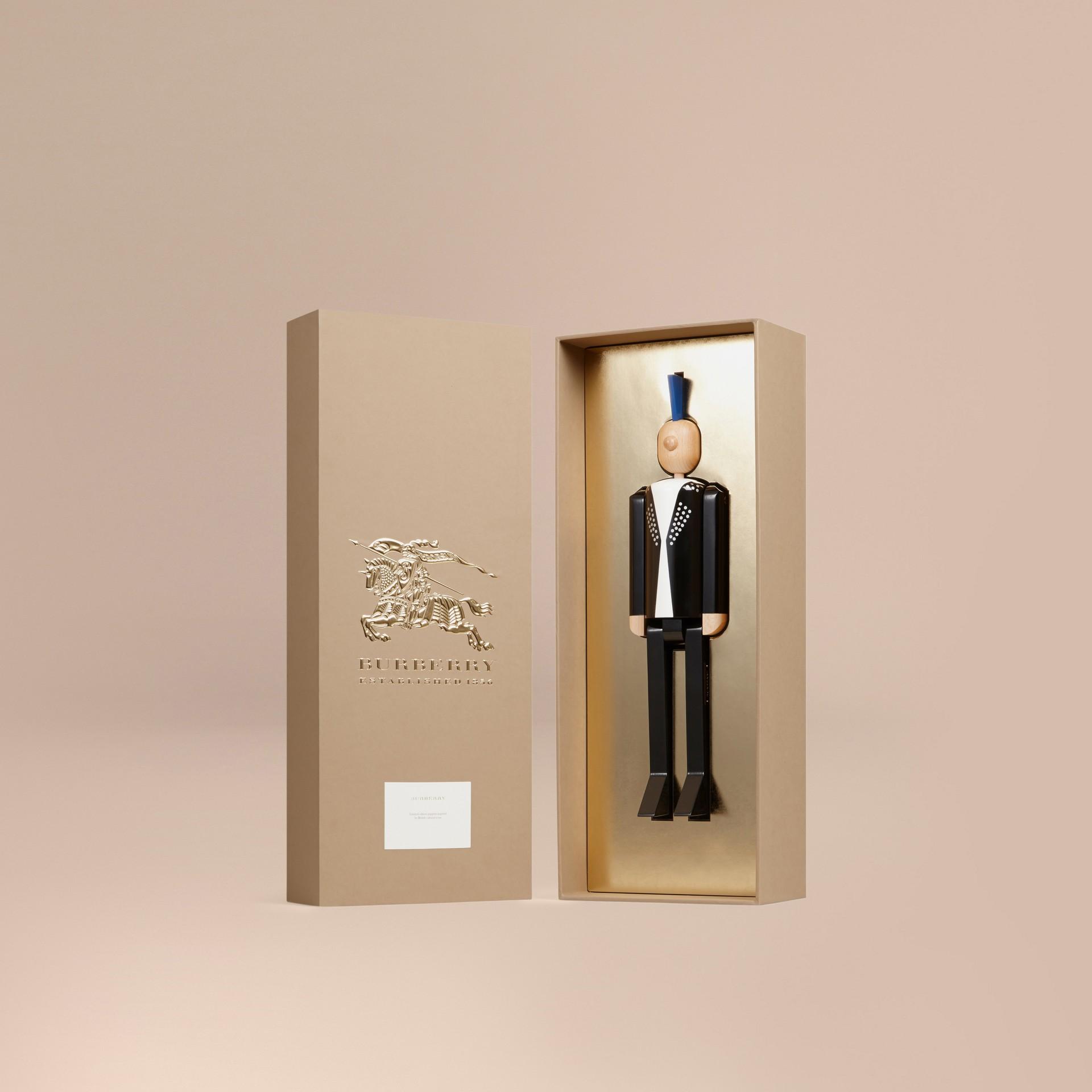 Multicolore Marionnette en bois à l'effigie du Punk en édition limitée - photo de la galerie 3