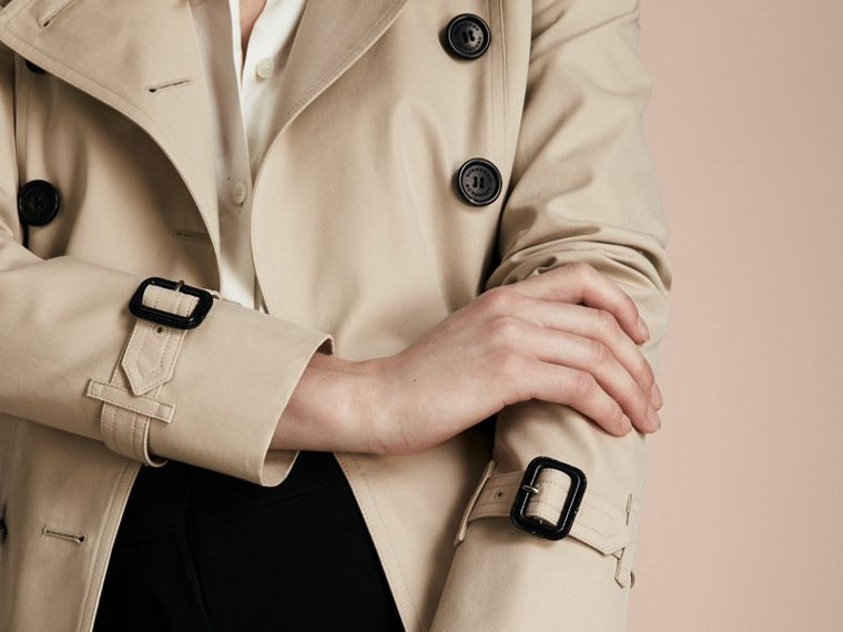 Stone The Chelsea – Mid-length Heritage Trench Coat Stone - cell image 4
