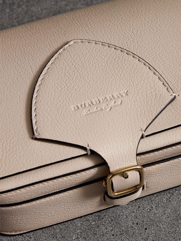 The Square Satchel in Leather in Stone - Women | Burberry United States - cell image 1