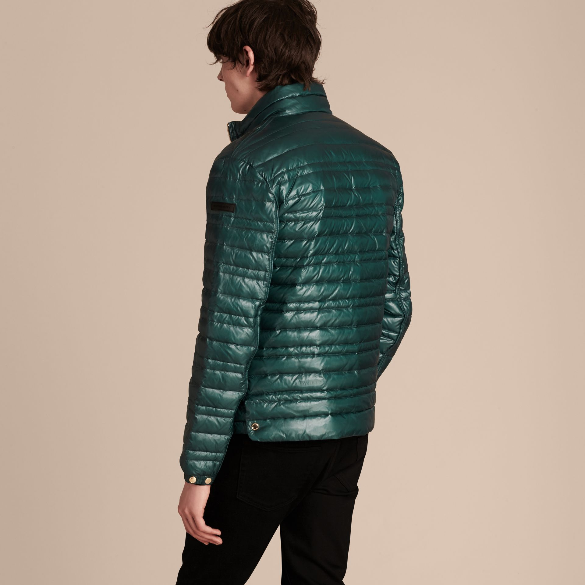 Pine green Lightweight Down-filled Jacket Pine Green - gallery image 3