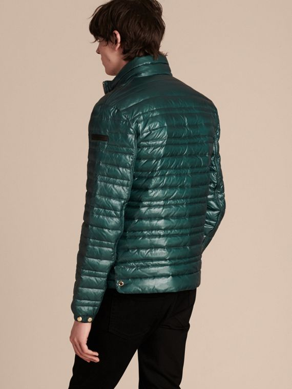 Pine green Lightweight Down-filled Jacket Pine Green - cell image 2
