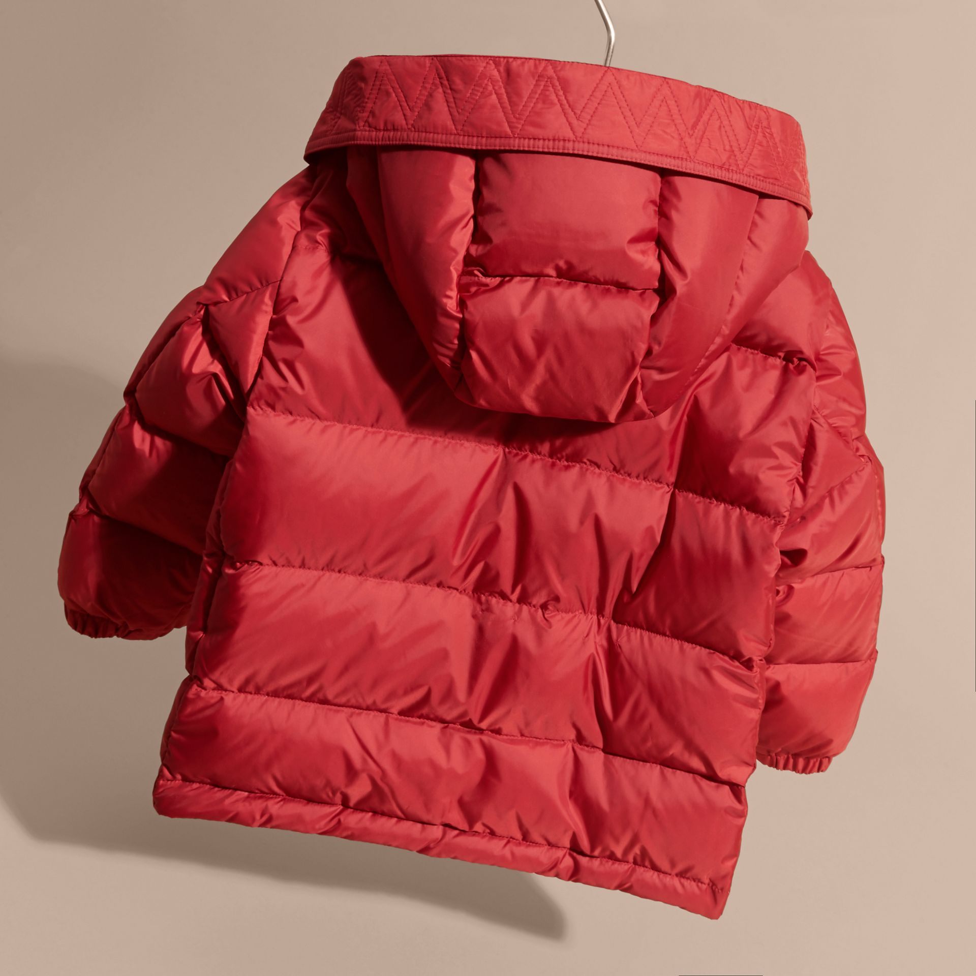 Military red Lightweight Down-filled Coat Military Red - gallery image 4