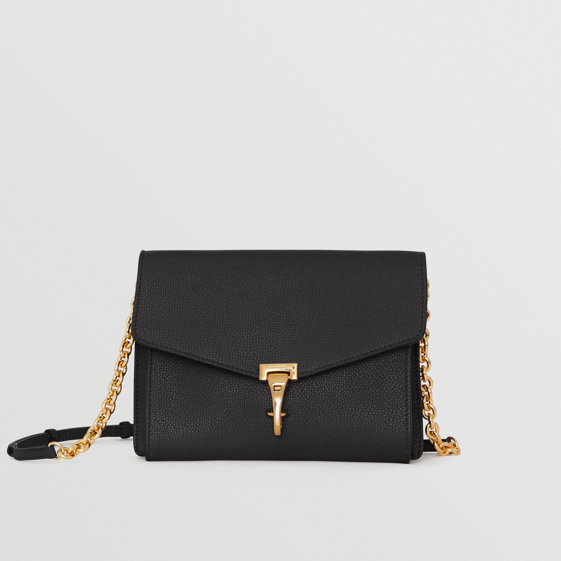 Small Leather Crossbody Bag in Black - Women | Burberry United Kingdom - gallery image 0