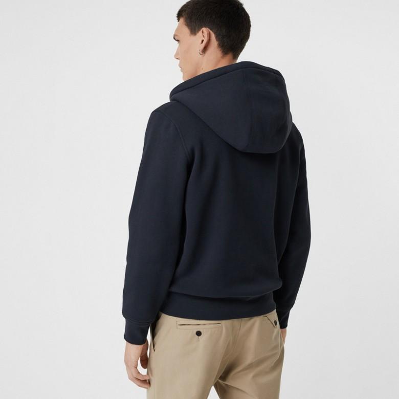 Burberry - Haut en jersey à capuche avec détails check - 3