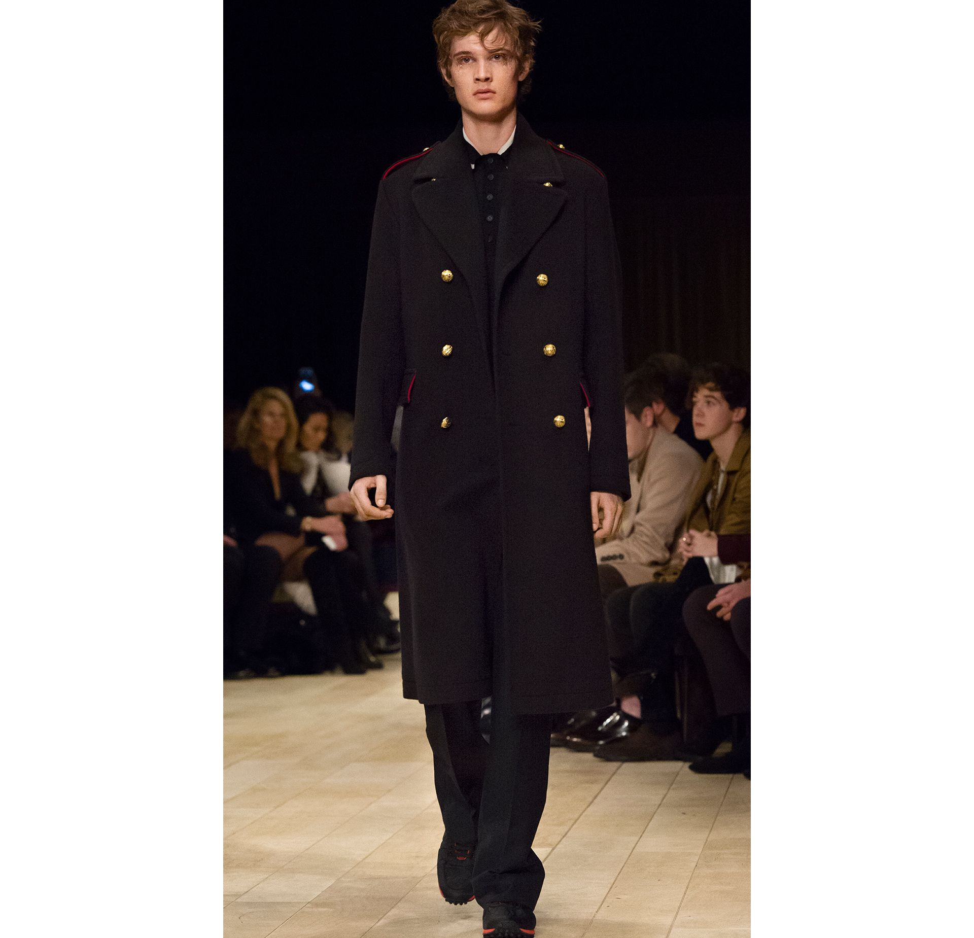 Navy The Military Topcoat - gallery image 4