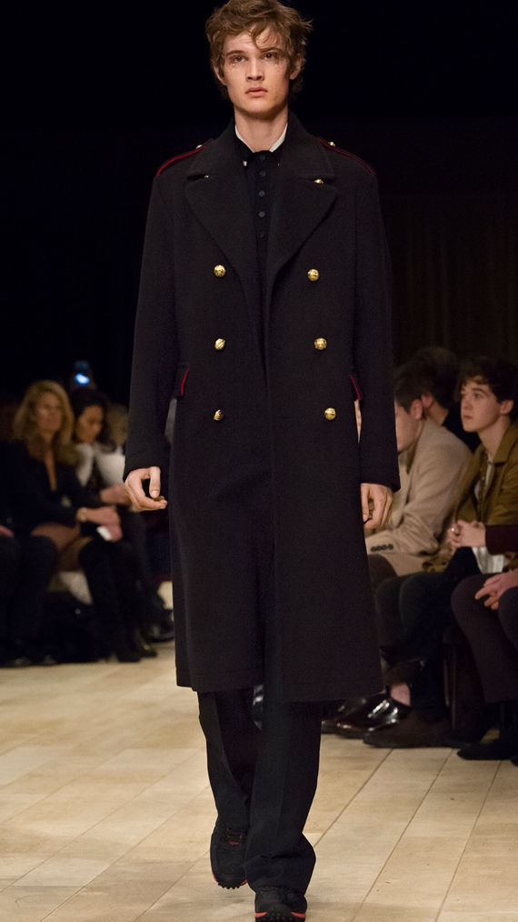 Navy The Military Topcoat - cell image 3