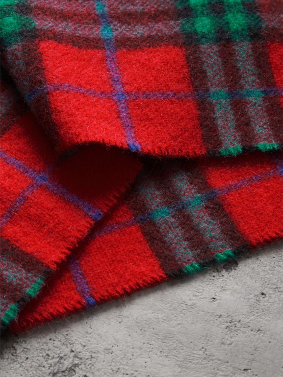 Check Cashmere Scarf | Burberry - cell image 1