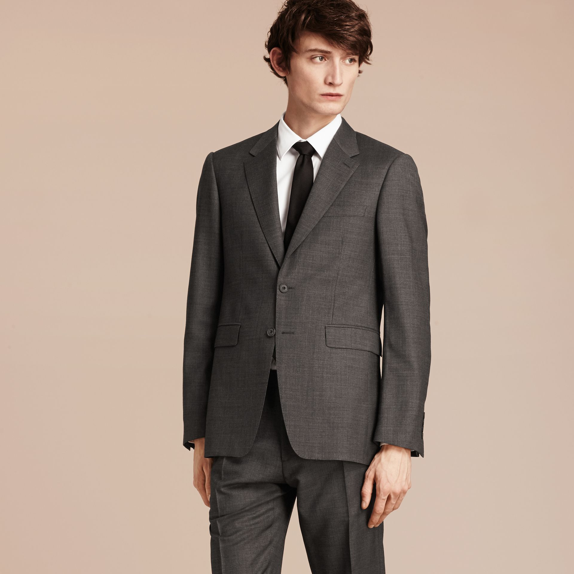 Modern Fit Travel Tailoring Virgin Wool Suit - Men | Burberry - gallery image 8