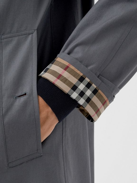 The Camden Car Coat in Mid Grey - Men | Burberry United States - cell image 1