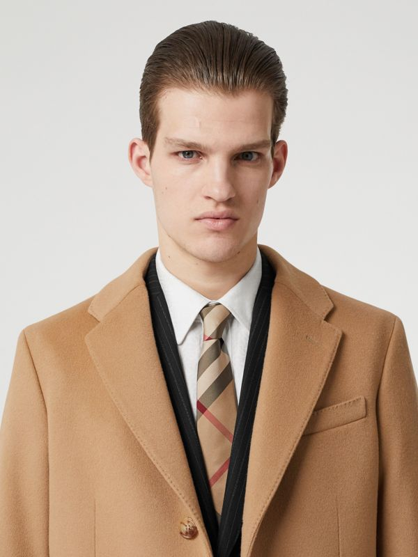 Classic Cut Check Silk Tie in Archive Beige - Men | Burberry Canada - cell image 2