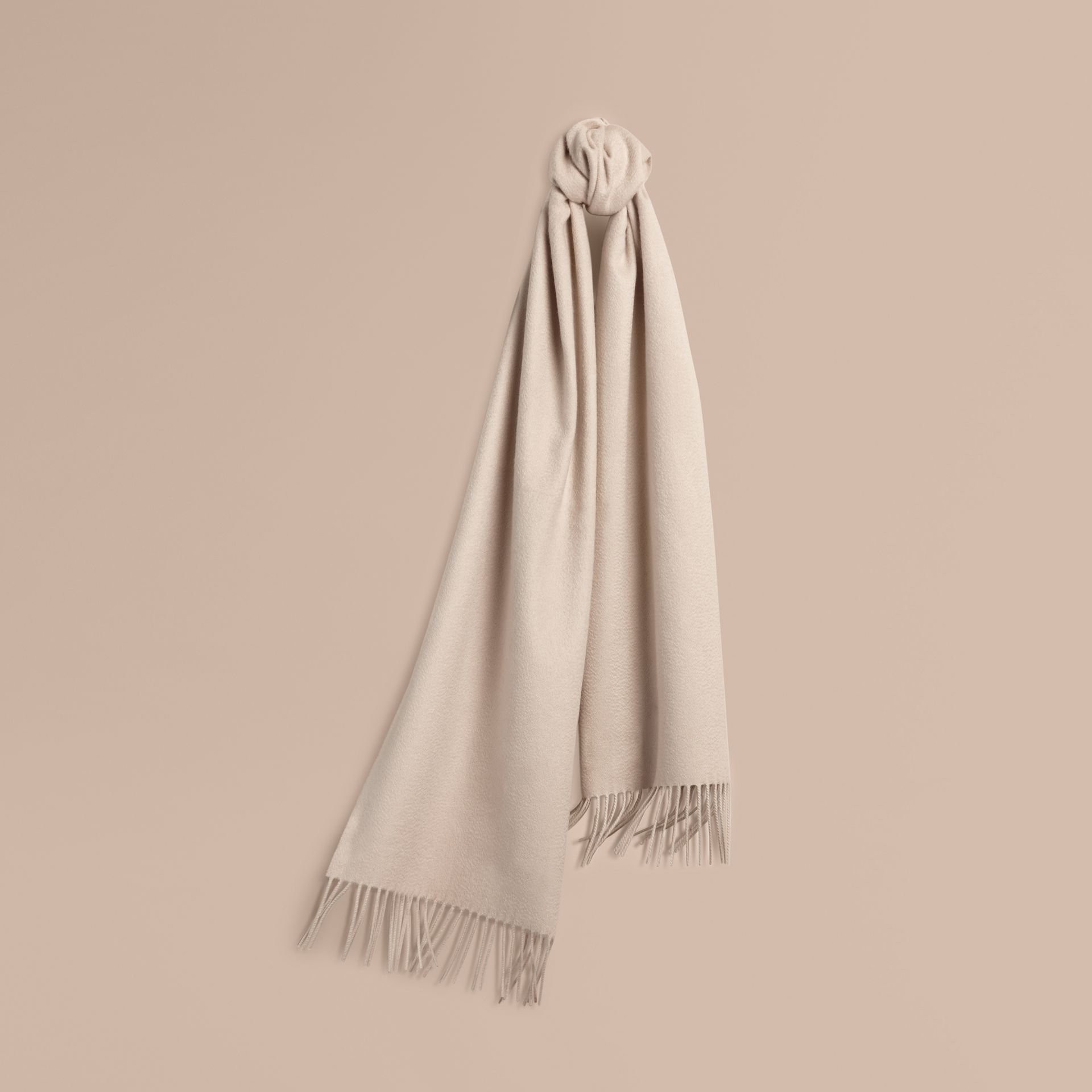 Stone The Classic Cashmere Scarf Stone - gallery image 6