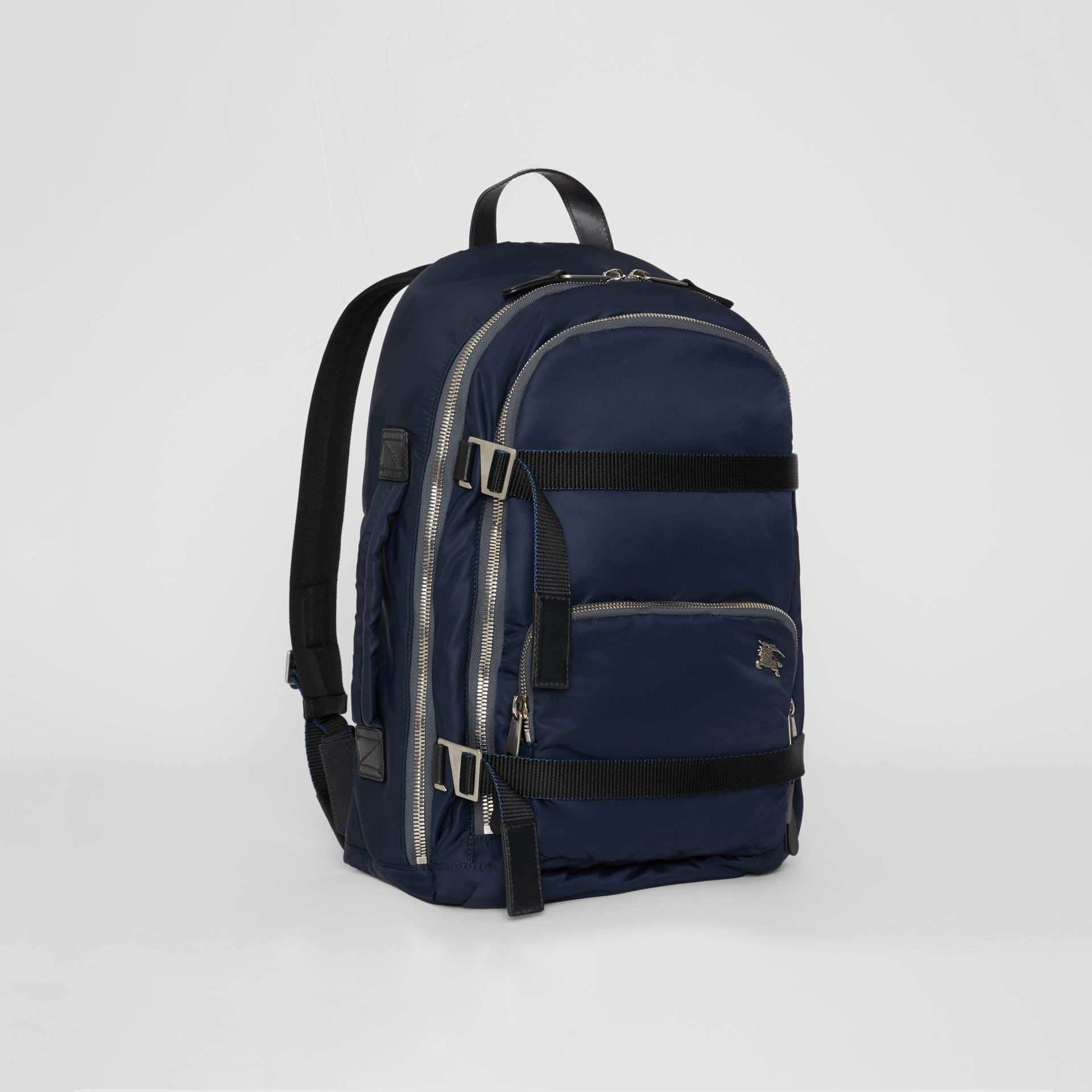 Large EKD Aviator Nylon Backpack in Ink Blue - Men | Burberry - gallery image 4