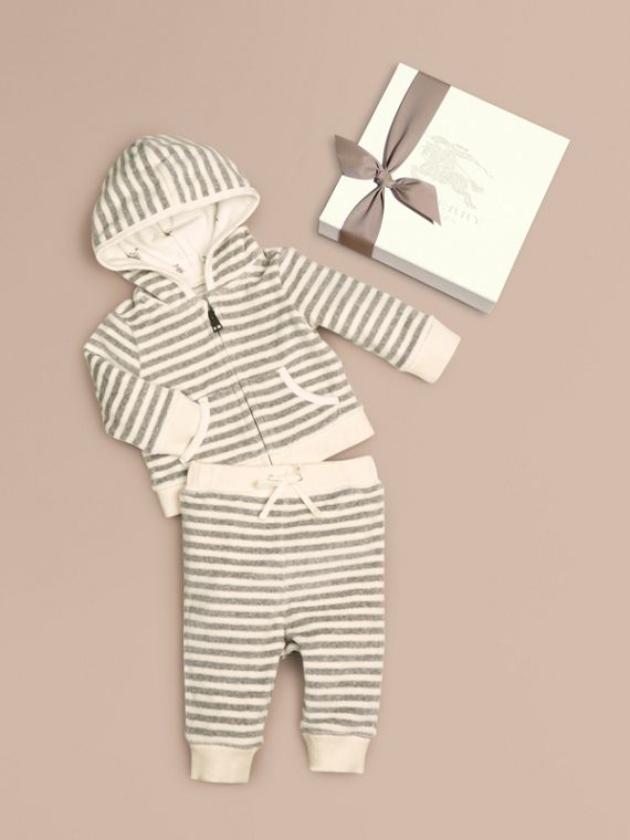 Baby Hooded Top Set